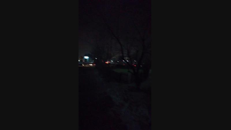 Вечерняя прогулка по Северному😀 Для тех, кто давно не слышал мой голос посвящается😂