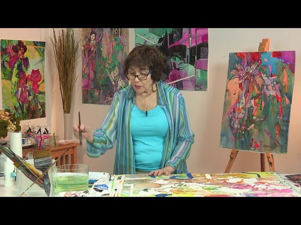 Preview Intuitive Art Poured Paintings with Betsy Dillard Stroud