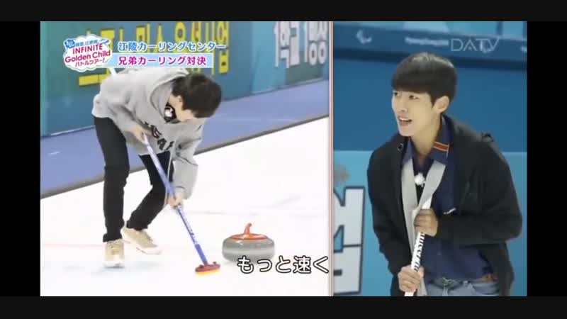 [03.11.18] DATV Lets Go Korea Gangwon-do INFINITE x Golden Child Brother Groups Battle Tour, эпизод 1 (Сонёль, Сонджон)