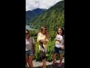 Оз.Рица, водопад Птичий Клюв.