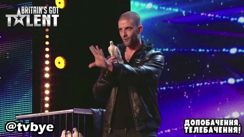 Darcy Oake Jaw Dropping Dove Illusion   Britain's Got Talent