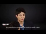 180521 Sehun @ Busted Interview