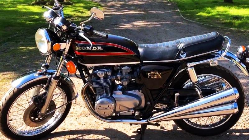 Мотоцикл Honda CB550, 1979 года