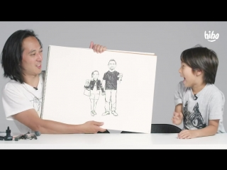 Kids Describe Their Parents to an Illustrator - Kids Describe - HiHo Kids