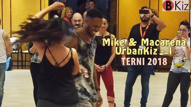 MIKE SERBIN (Mike Evens) MACARENA PATON -KARIPANDE 2018 - UrbanKiz (1)📸💃💗📽👠
