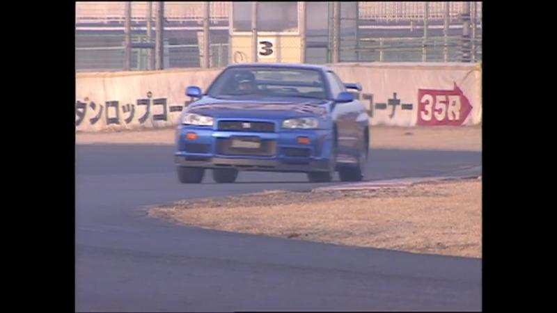 R34 GT Rデビュー 中谷明彦 フルテスト Best MOTORing 1999