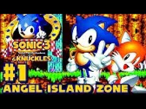 Sonic Knuckles HD part 1 ► Angel Island