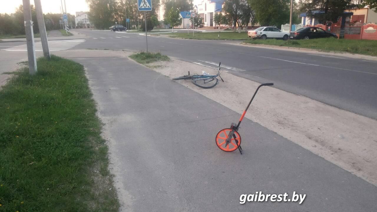 В Белоозерске пострадал велосипедист