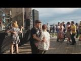 Мастер класс по блюзу от Михайло и Насти (DanceBanana Social Club) на блюзовом фестивале Мосты