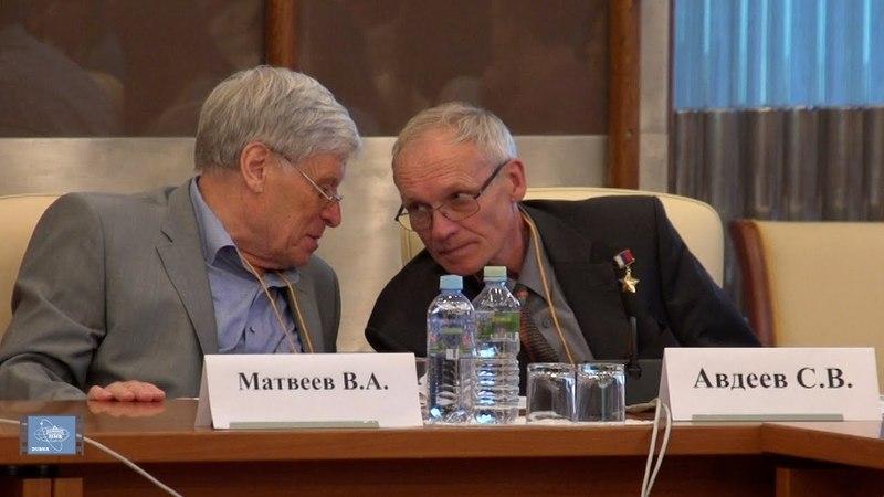 Космонавт Сергей Авдеев на конференции в ОИЯИ: «Готова ли «аптечка» для тех, кто полетит на Марс?».
