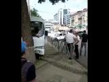 Около 10:00 20 мая на перекрестке улиц Северной и Базовской столкнулись маршрутный автобус № 31 и автомобиль «Infiniti» •
