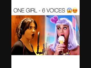 1 девушка = 6 голосов
