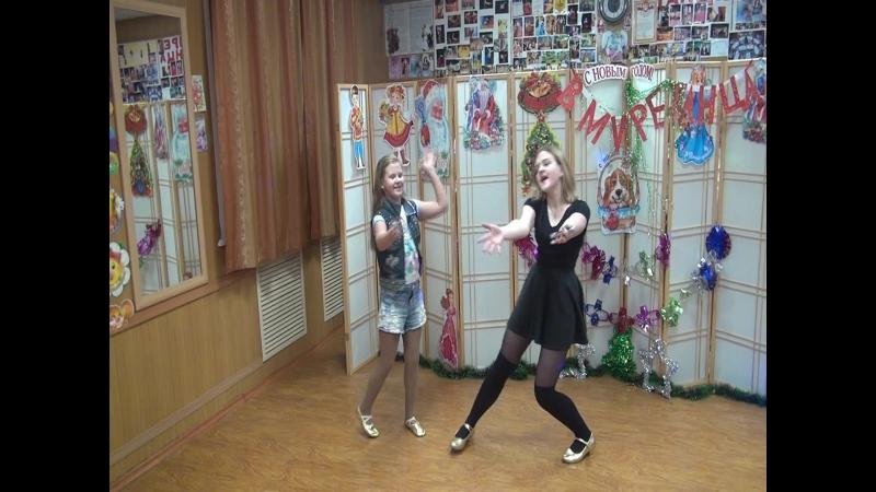 Настюша и Таня просто танцуют, эх, нани-на, цыганочки мои