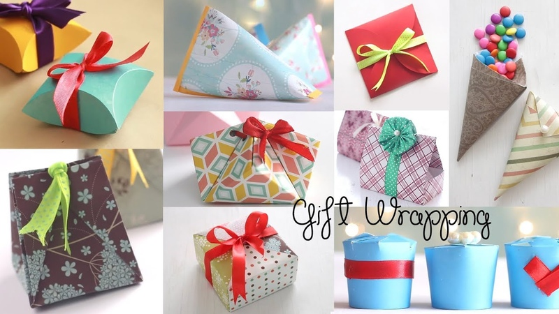10 Fantastic Gift Wrap Ideas | Paper Crafts | Compilation