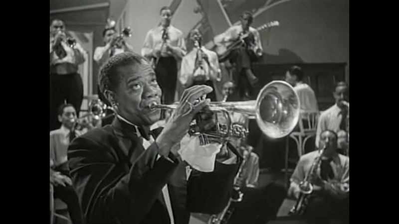 Singin and Dancin featuring Dorothy Dandridge, Buck and Bubbles with Louis Armstrong and his Orchestra