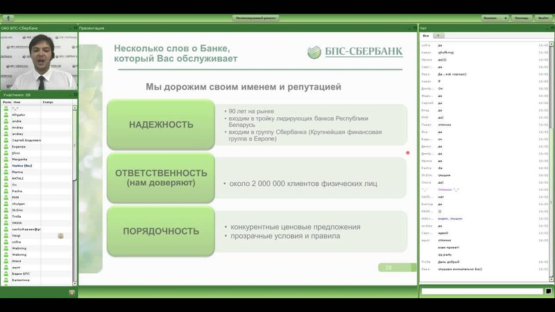Платежные карты ОАО БПС-Сбербанк