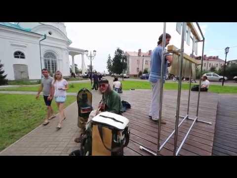 Габриэль Гаденак и Сергей Садов на фестивале в г. Елабуга 2018 г.