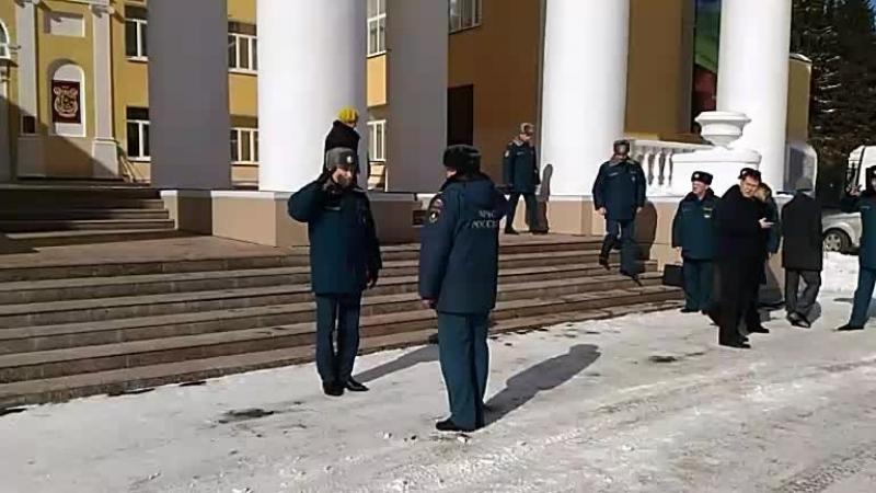 Московская комиссия МЧС проверяет готовность Ревды к паводку
