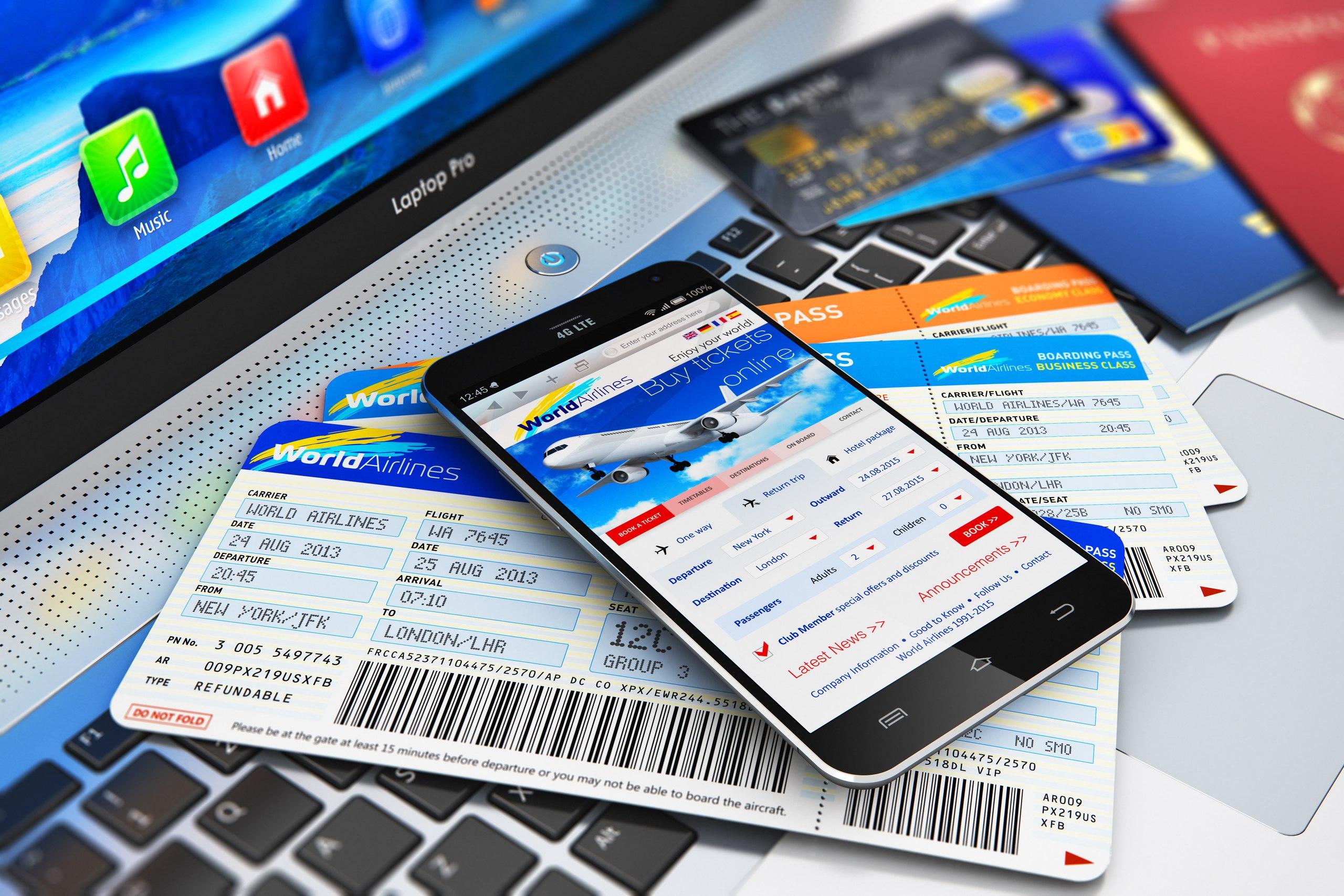 Что учитывать при бронировании рейса самолета онлайн?