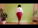 Юбка Эйвон красного цвета из Каталога №11. Отзыв