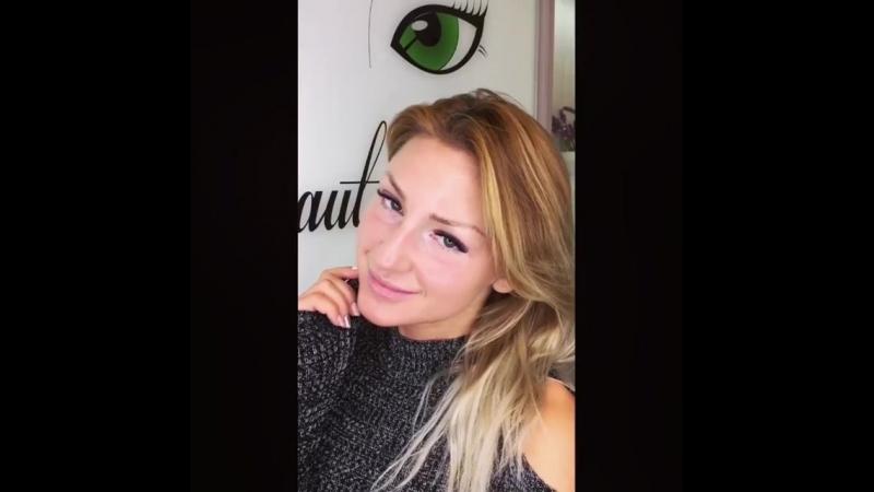 Видеоотзыв о работе студии дизайна взгляда Beauty Eyes