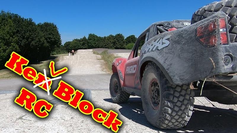 Driving My RC like KEN BLOCK - Traxxas UDR Unlimited Desert Racer