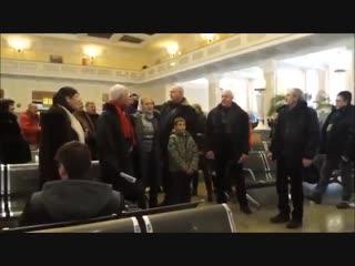 Песня новосибирцев в поддержку Донбасса!