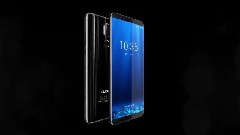 Смартфон Cubot X18 плюс Android 8 0 18 9 FHD 4 ГБ 64 ГБ 5 99 дюймов MT6750T 8 ядерный смартфон 16MP 2MP камеры заднего 4000