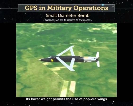 The GBU 39 Small Diameter Bomb