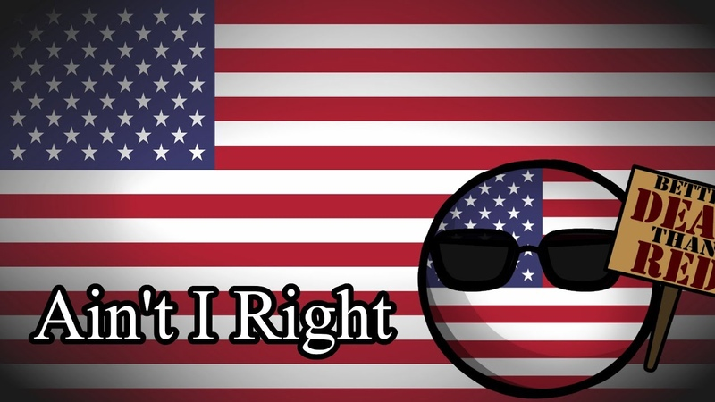 Ain't I Right Música Americana Anti comunista