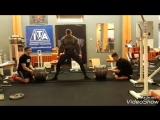 Кшиштоф Вержбицки - тяга 410 кг (100 кг)