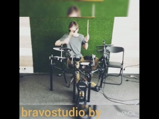 BravoStudio. Drum-разминка перед занятием