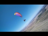Shooting a paraglider from a racing drone (13.05.2018)