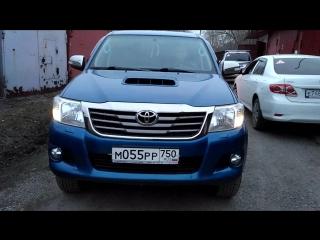 Toyota HILUX ДХО -ПОВОРОТ DRL & Turn Light