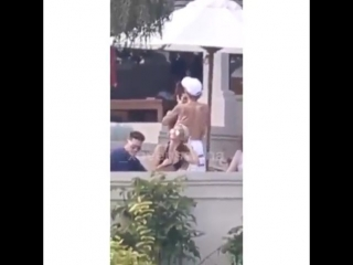February 19: A close-up video of Justin and Selena Gomez spotted in Montego Bay, Jamaica.