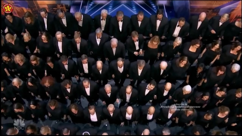 """Angel City Chorale Choir with """"AFRICA"""" AWESOME Americas Got Talent 2018 Auditio"""