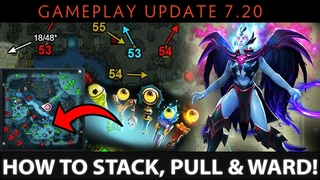 ALL TIMINGS - How to Stack, Pull & Ward in 7.20 - Dota 2 NEW Patch Update Guide