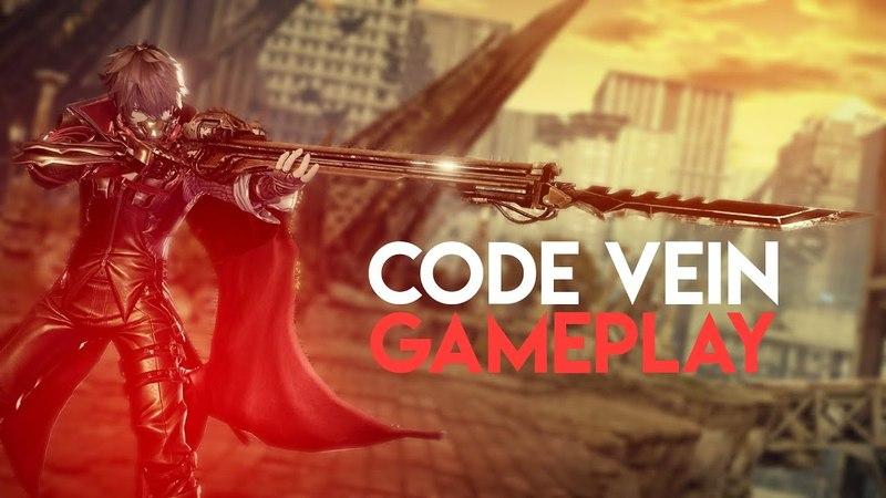 Code Vein: Exclusive Gameplay Footage