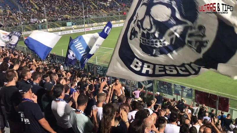 ITA Brescia Calcio Perugia Calcio Fans pyro 2018 08 24