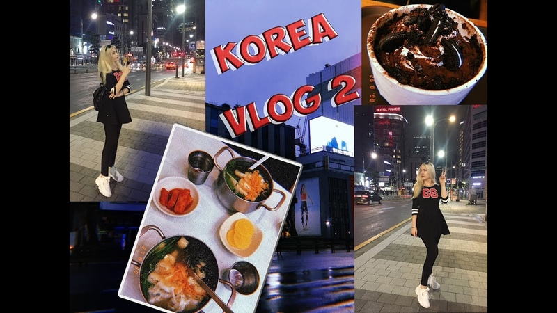 VLOG 2 Korean Seoul Club Mass Myeong dong