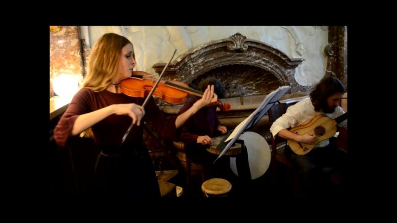 Prelude et Allemande - Robert de Visee. Performed by ensemble Contrapunktus. Live in LenDoc.