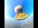 На большом воздушном шаре в Мехико