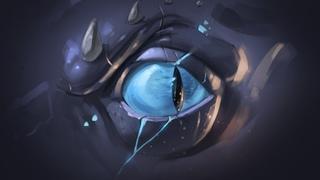 Рисуем глаз дракона в Adobe Photoshop (школа Pixel)