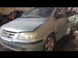 В разборе Hyundai Matrix (Хендай Матрикс) ДВС 1.8 122л.с. G4GB  МКПП Хетчбек 2002г.(до рестайл)