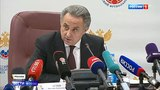 Вести в 2000 Виталий Мутко приостановил свою деятельность на посту президента РФС