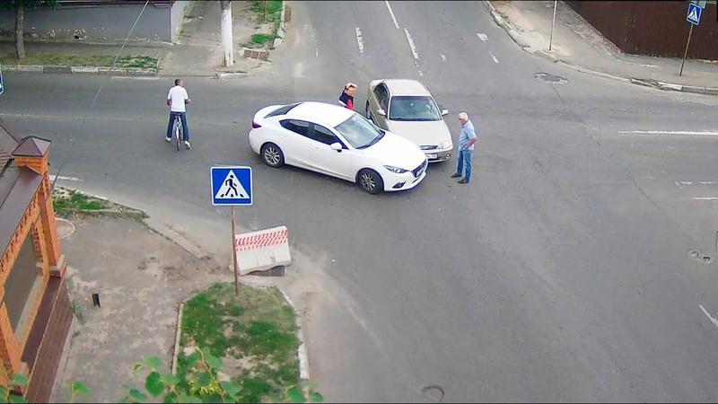 ДТП в Серпухове. Подставился на пустой дороге... 12 июля 2018г.