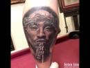 Tupac Portrait Tattoo Art by Boden Him 2018
