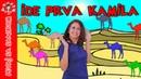 Ide prva kamila (There Goes The First Camel) | Pevaj sa Sandrom | Dečije pesme