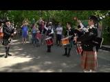 Кельтский оркестр волынок и барабанов Амурские волны 2018