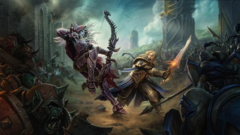 World of Warcraft Битва за Азерот Вол'дун часть 2